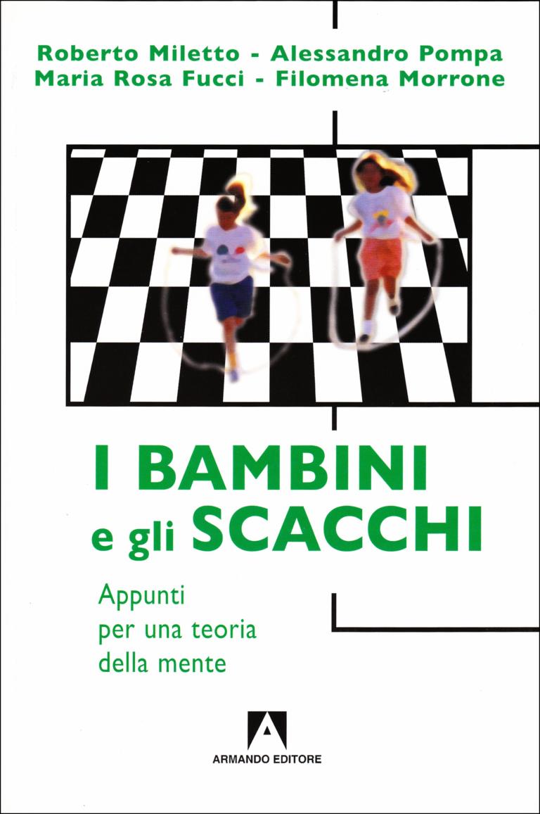 """Copertina del volume """"I bambini e gli scacchi. Appunti per una Teoria della Mente"""""""
