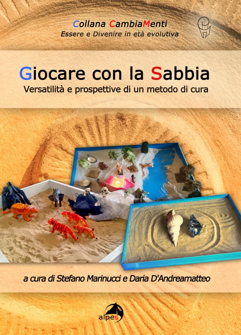 """Copertina del volume """"Giocare con la Sabbia"""""""